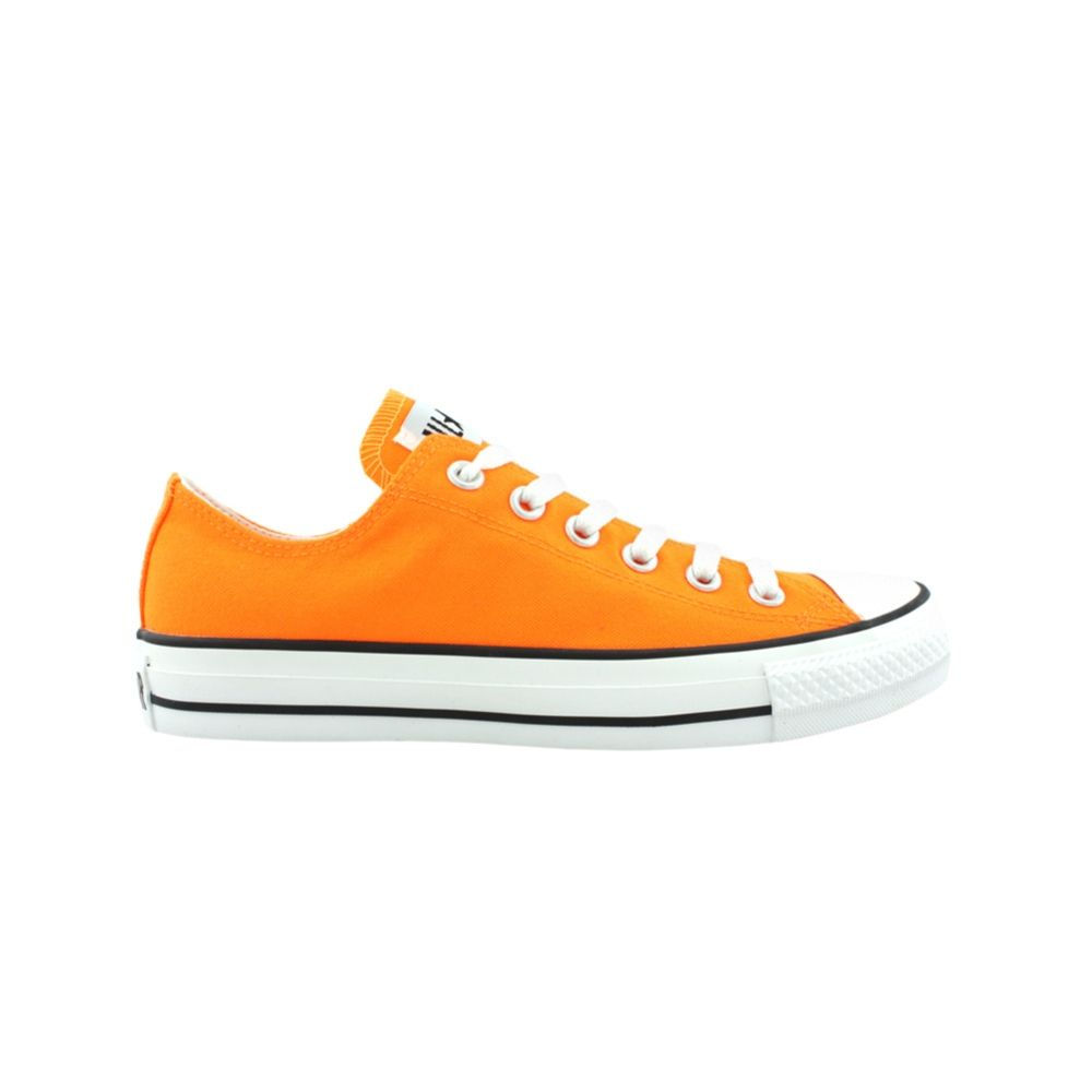 Converse All Star Lo Athletic Shoe Bright Orange Journeys Shoes