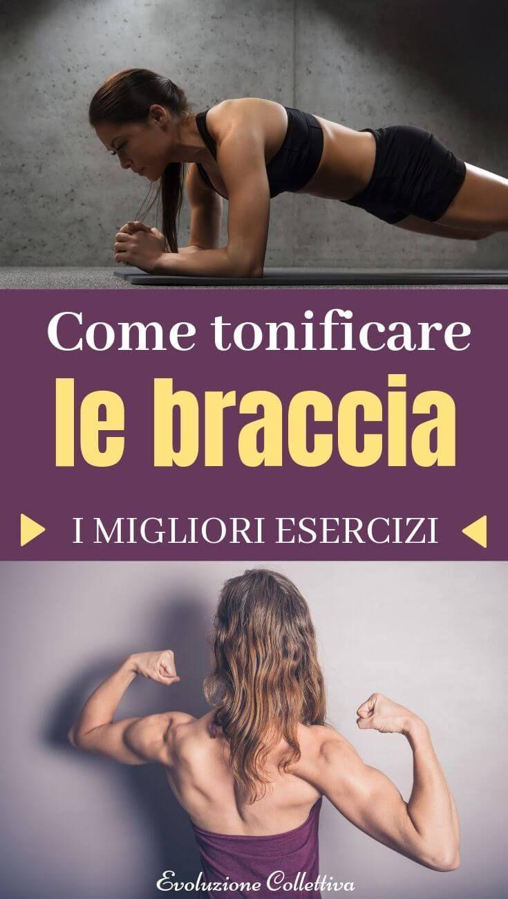#esercizi #tonificare #braccia #fitness #evoluzionecollettiva