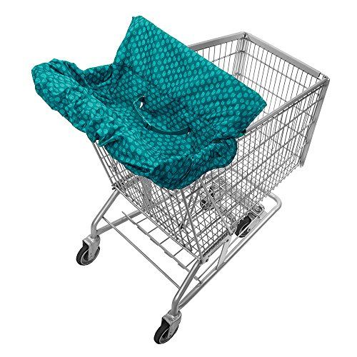 This Handy Stash Anywhere Shopping Cart Cover Folds Up Extra Small
