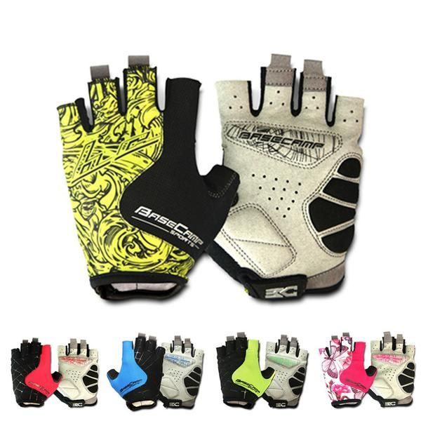 Half Finger Sbr Gel Pad Bicycle Gloves In 2019 Cycling