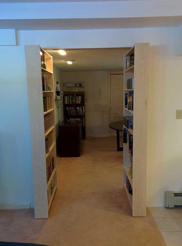 Nice 35 Insanely Creative Hidden Doors For Secret Rooms: DIY Hidden Bookcase Door - Updated