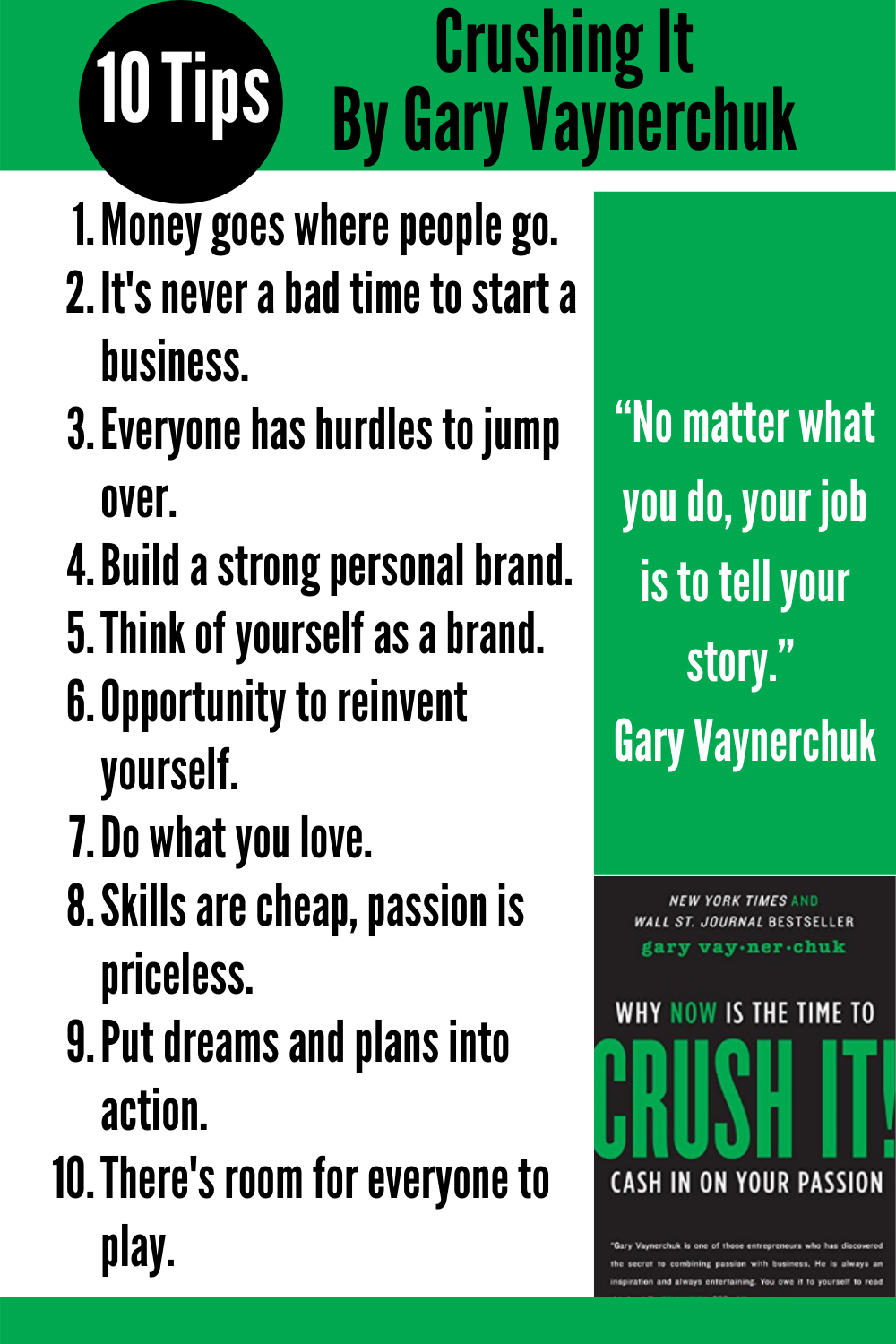 Start Taking Steps Now To Crush It Post Isolation In 2020 Reading Challenge Gary Vaynerchuk Book Reading Tips