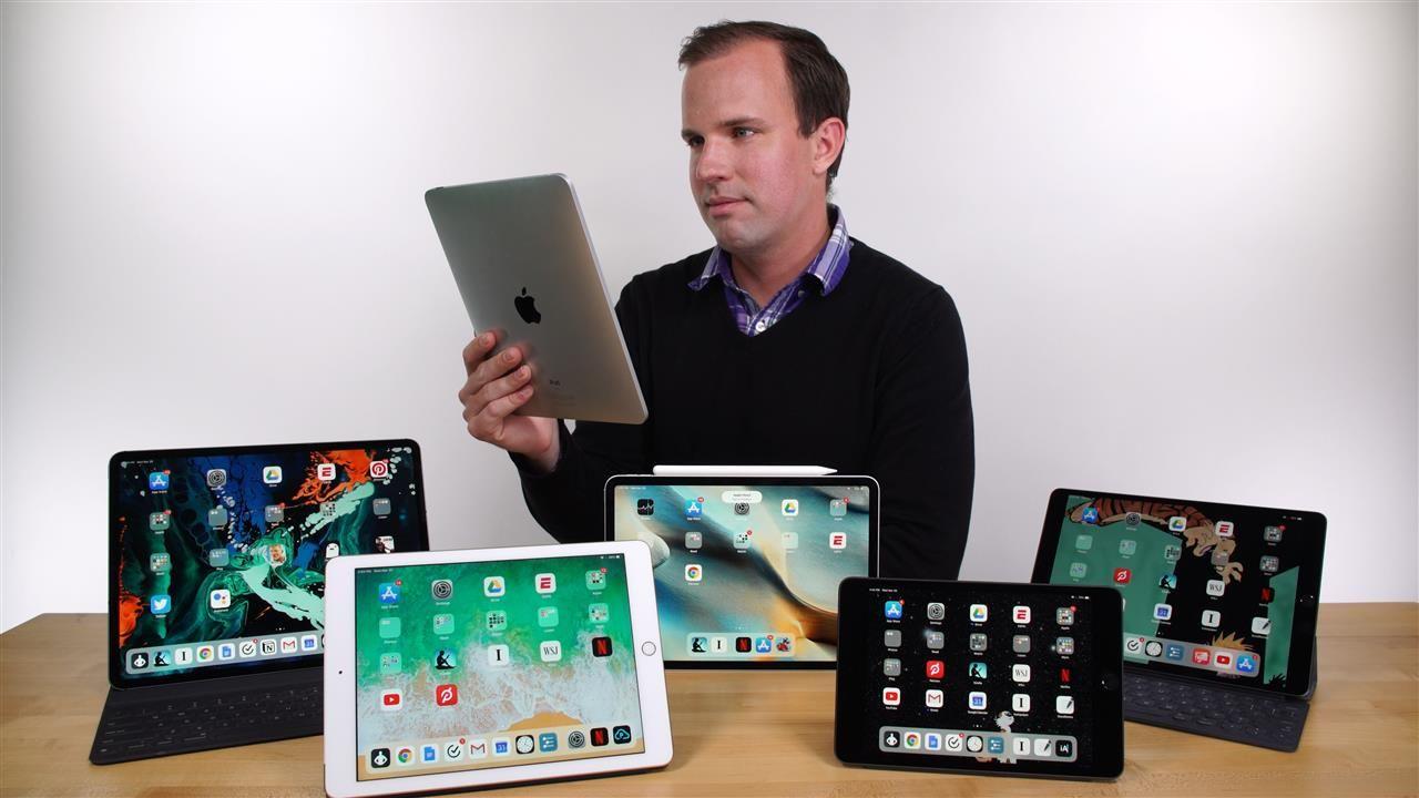 iPad Mini...iPad Air...iPad Pro? Here's How to Pick the