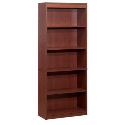 "Bestar Accessories 72"" Standard Bookcase Finish: Bordeaux"