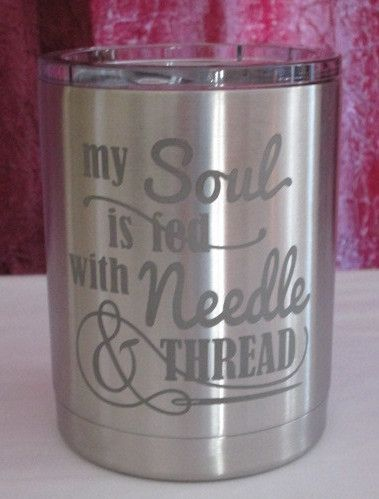 My Soul is Fed Stainless Tumbler 10 oz