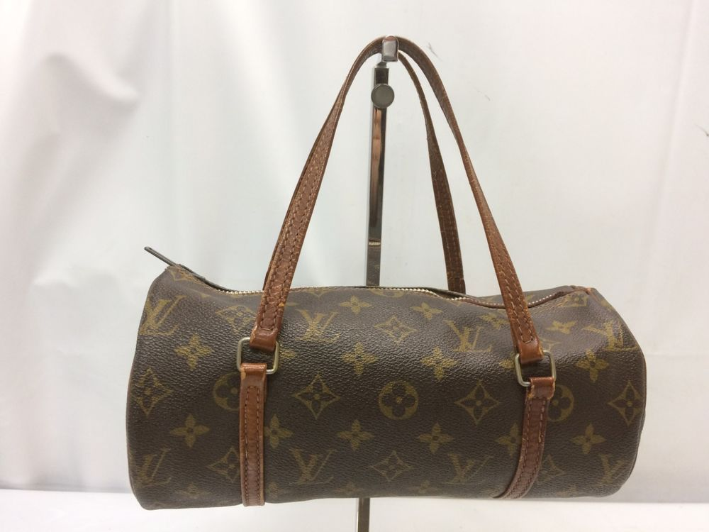 b8c196ec0dac Auth Louis Vuitton Monogram Papillion 26 Hand Bag Vintage 8L050210y   fashion  clothing  shoes