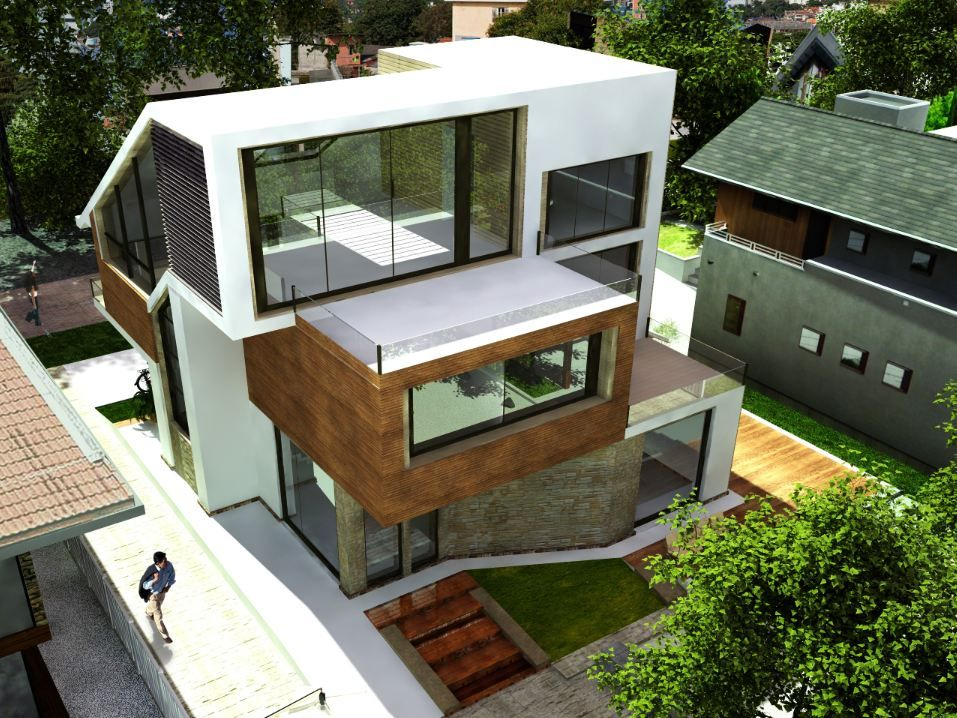 ordinary house concept design #1: F-house-simple-modern-house-architecture-concept-design-1.jpg (957×718) |  Dump Architecture | Pinterest | Modern mansion, Mansion and Modern mansion  ...