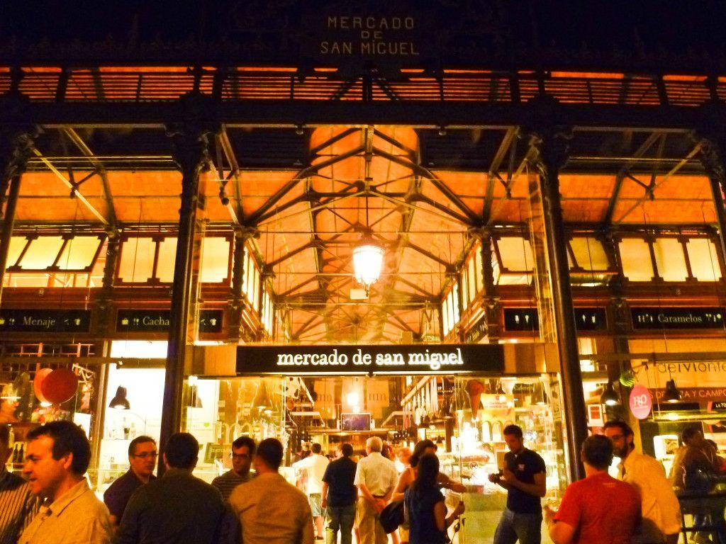 Mercado De San Miguel Market In Madrid San Miguel Market San Miguel Spain