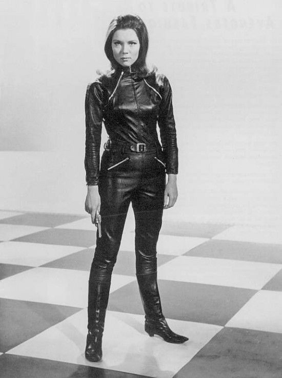 Can You Imagine A World Where Diana Rigg Was Known As A Leather Clad