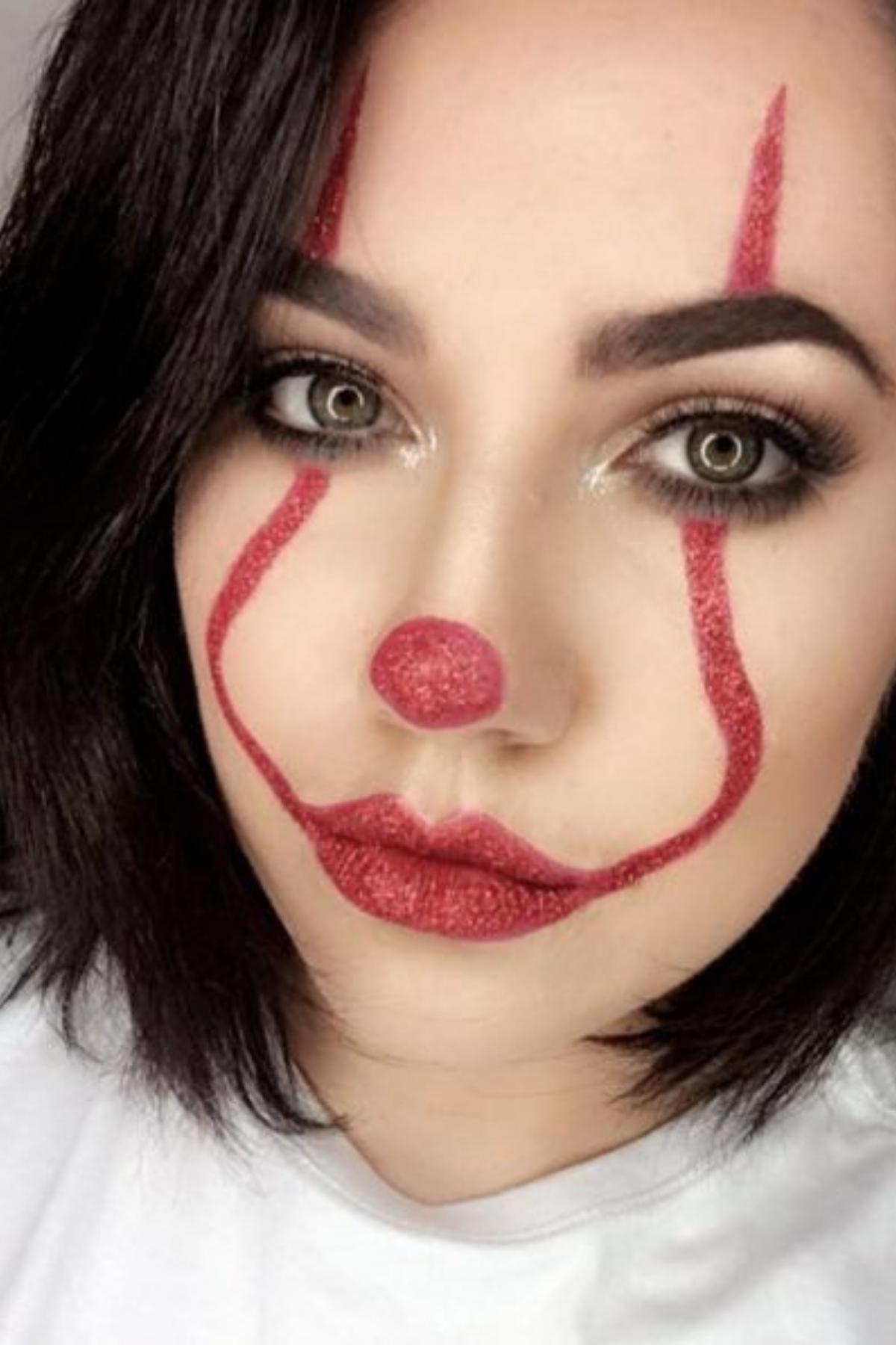 5 Easy Halloween Makeup Ideas Halloween Makeup Pretty Cute Halloween Makeup Clown Makeup