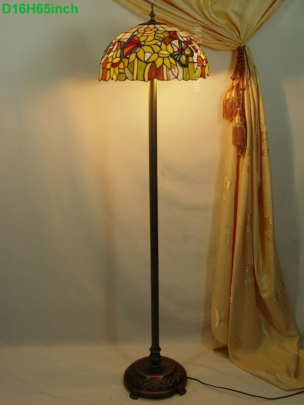 Butterfly Tiffany Lamp	16S5-22F8