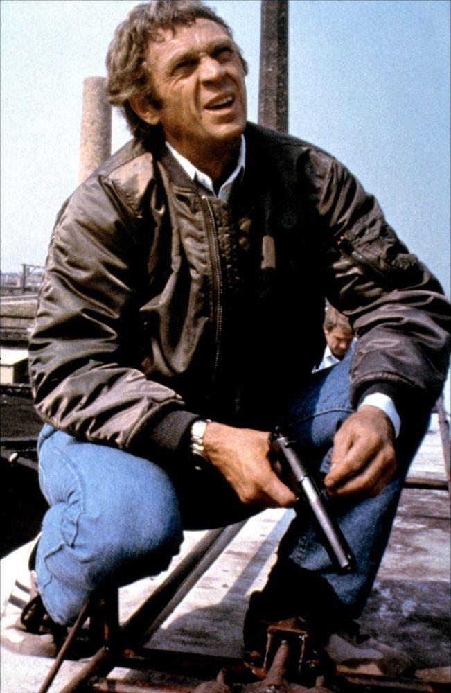 Steve Mcqueen Stars As Ralph Papa Thorson A Professional Bounty Hunter Who