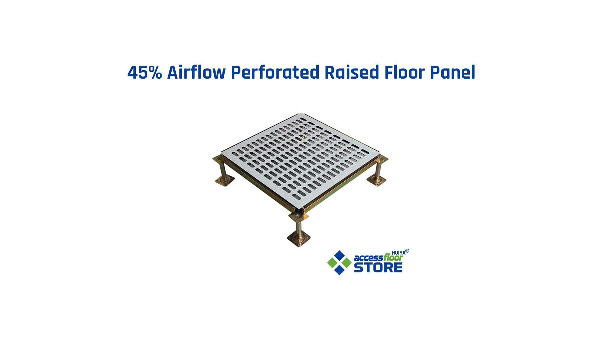45 Airflow Perforated Raised Floor