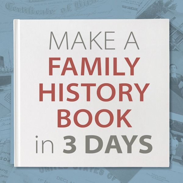 make a 20 page family history photo book in 3 days to give as gifts