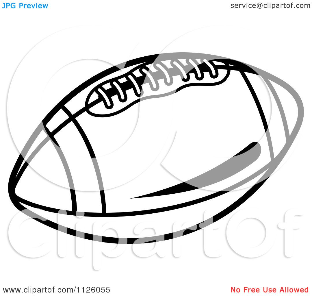 Fantasy Football Clipart Free Download Clipart Of A Black