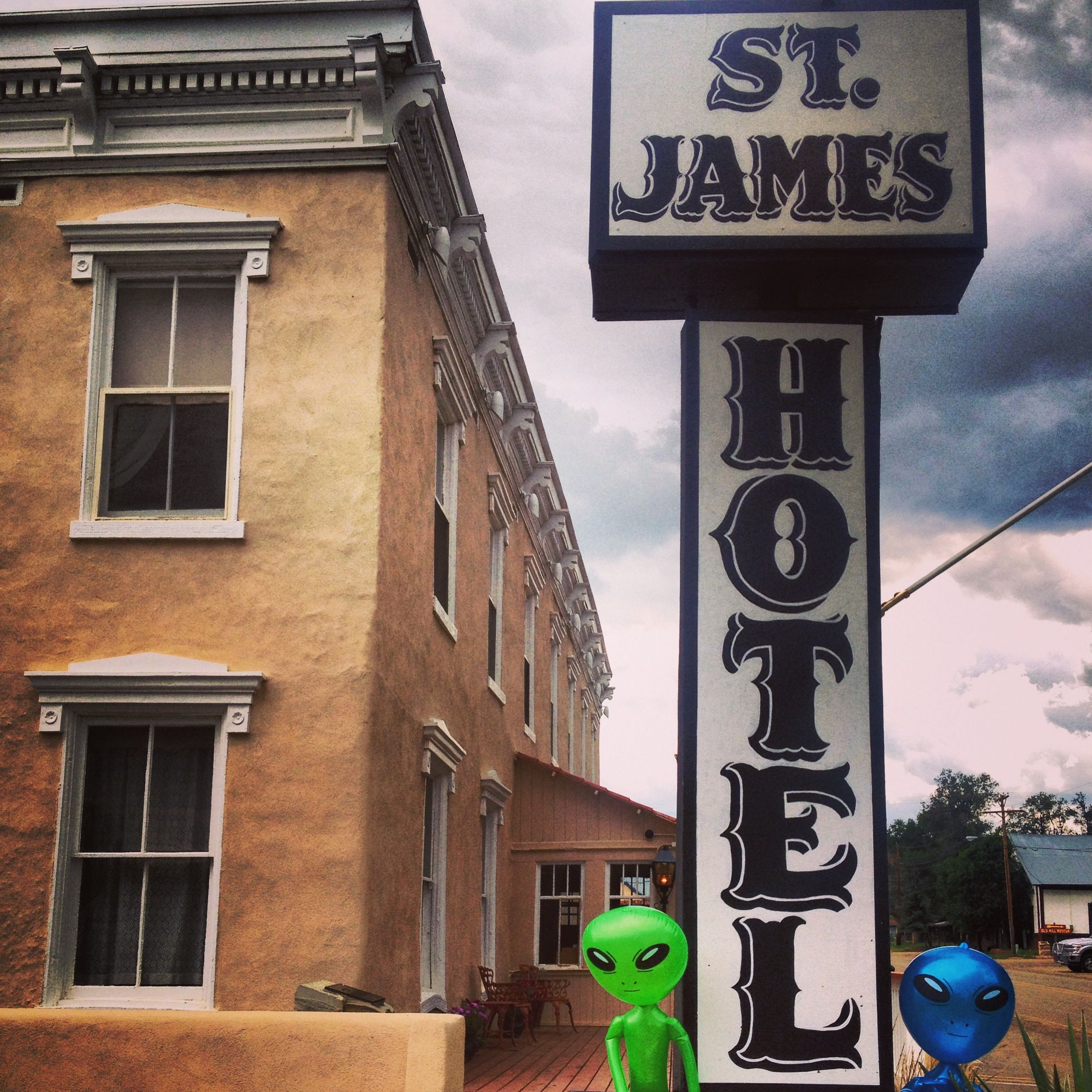 St. James Hotel.haunted Mexico Adventures