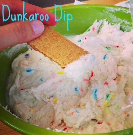 A Blast From the Past - Homemade 'Dunkaroo Dip'
