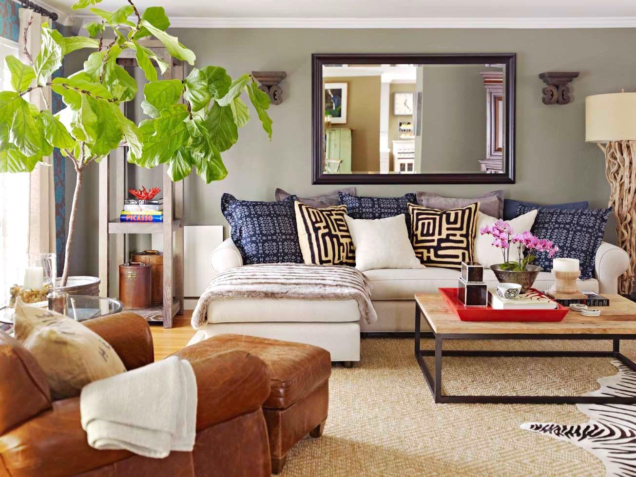 modernes wohnzimmer gemütlich gestalten | dekoideen bad selber ...
