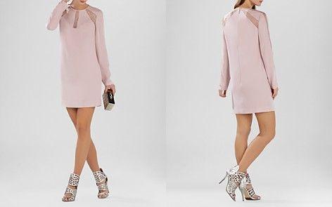 Payten Lace Insert Shift dress. Love