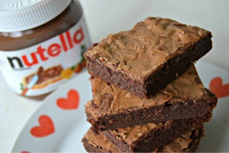 Brownie De Nutella De 3 Ingredientes Receita Receita De Cookie Caseiro Receitas Saborosas E Fáceis Receita Brownie