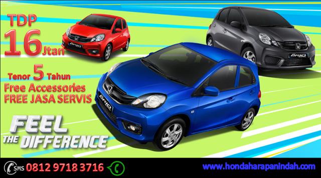 Promo Honda Brio Bekasi DP Super Ringan Honda, Navy