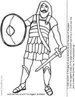 MANUALIDADES PARA LA ESCUELA DOMINICAL: David y Goliat