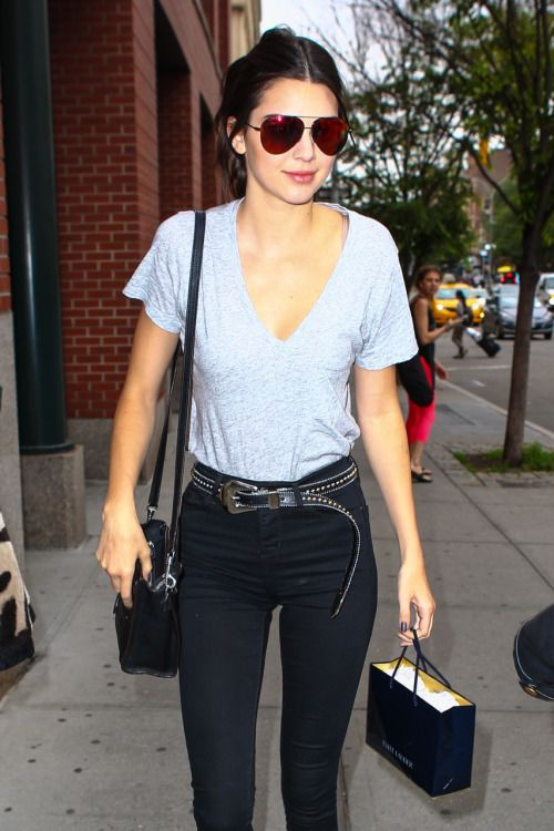 Kendall out in NYC