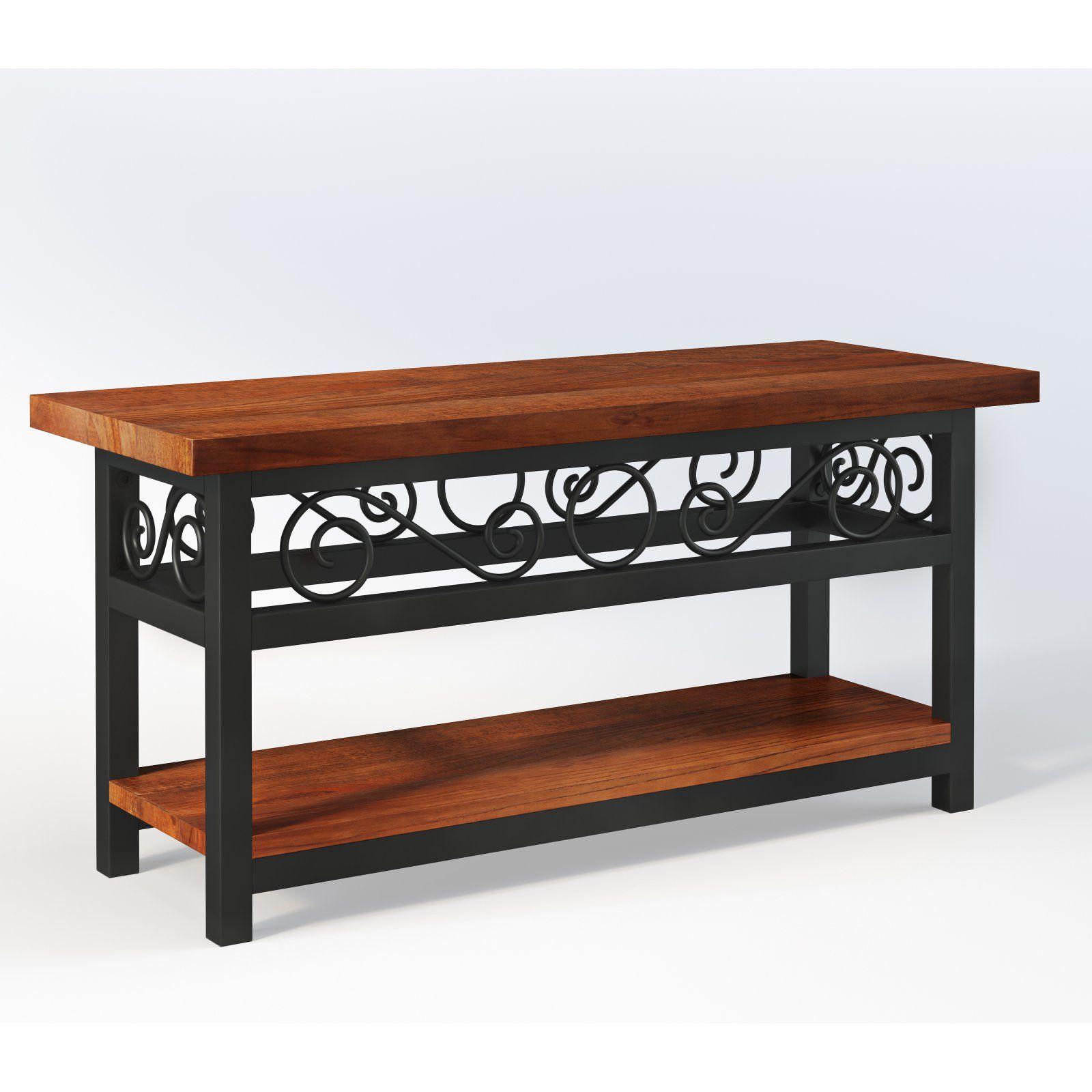 Alaterre Artesian Scrollwork Indoor Bench
