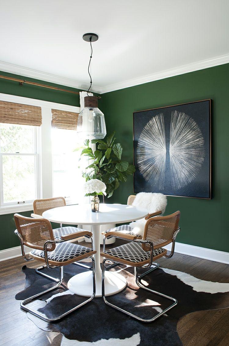 Dunkle Wandfarbe als Raumgestaltung Tipps für ein