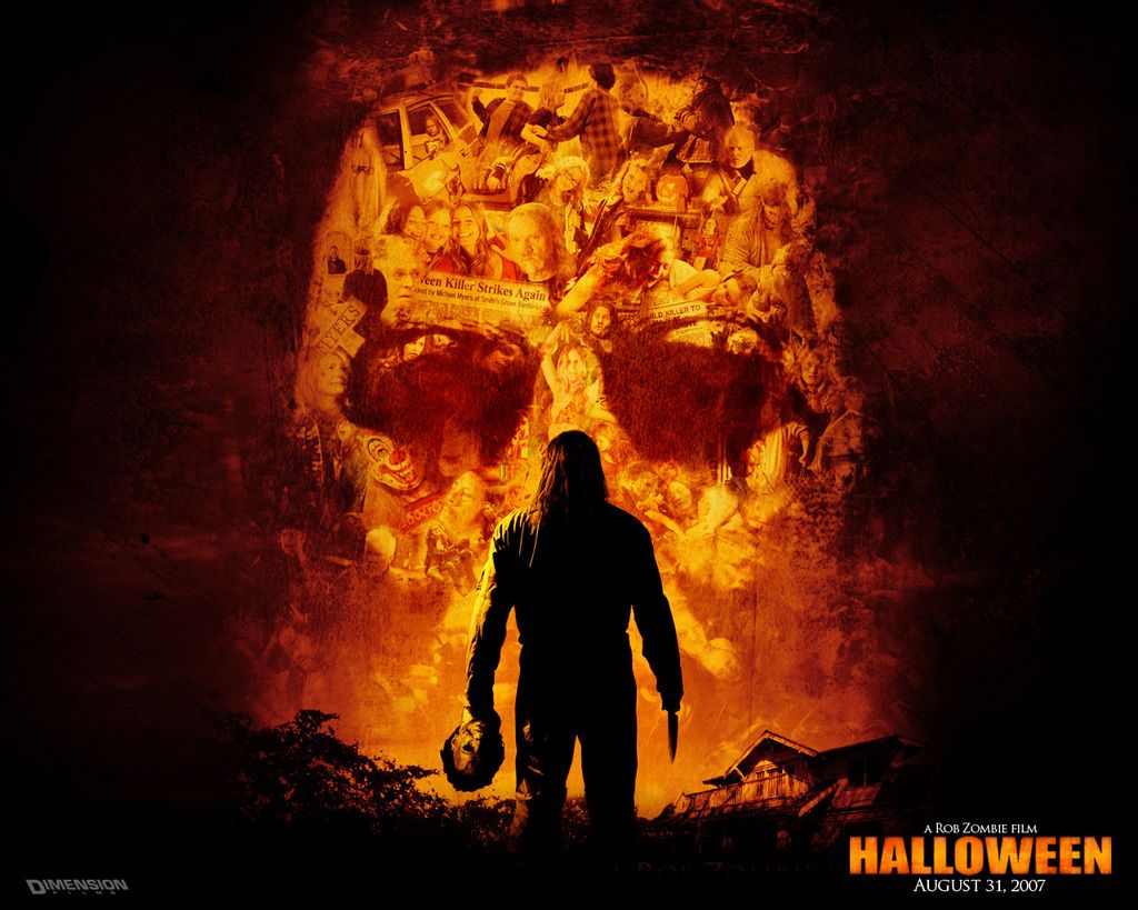 this is the fabulous halloween skull fire image wallpaper background - Halloween Skulls