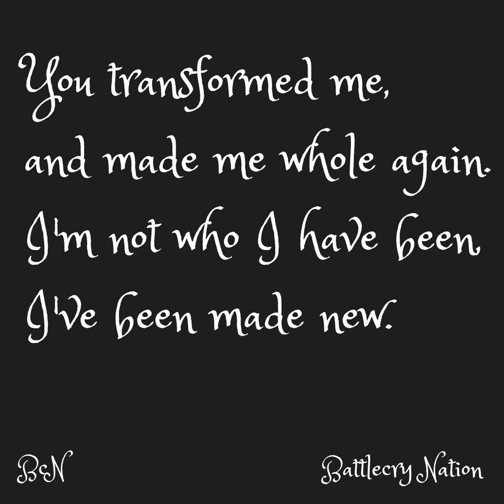 battlecry Nation original song lyrics (Transformed)