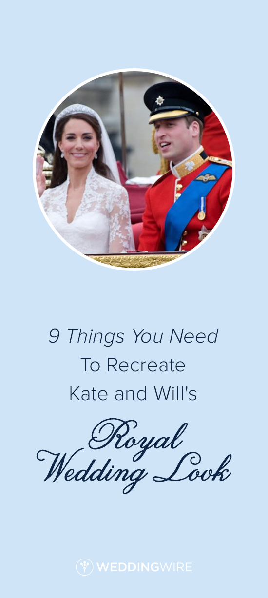 9 Things You Need to Recreate Kate and Will's Royal