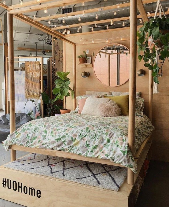 Bed from Urban Outfitters home #UOHome | Uo home, Urban ...