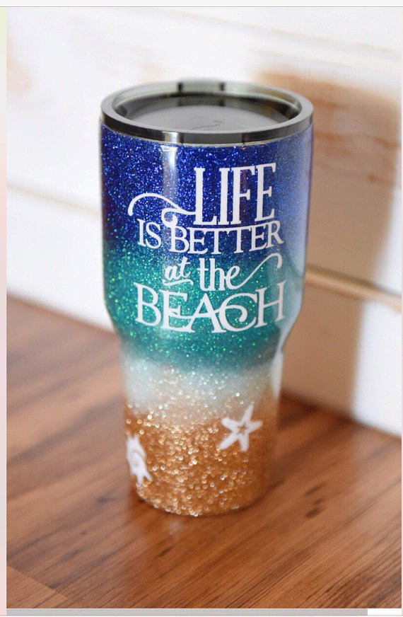 Life is Better at the Beach 30 oz Stainless-Steel Tumbler