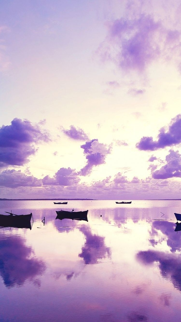 Pretty Ocean Sunset iPhone 6 Wallpaper 35992 Landscape
