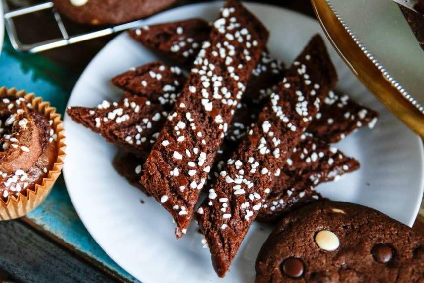chokladsnittar sju sorters kakor