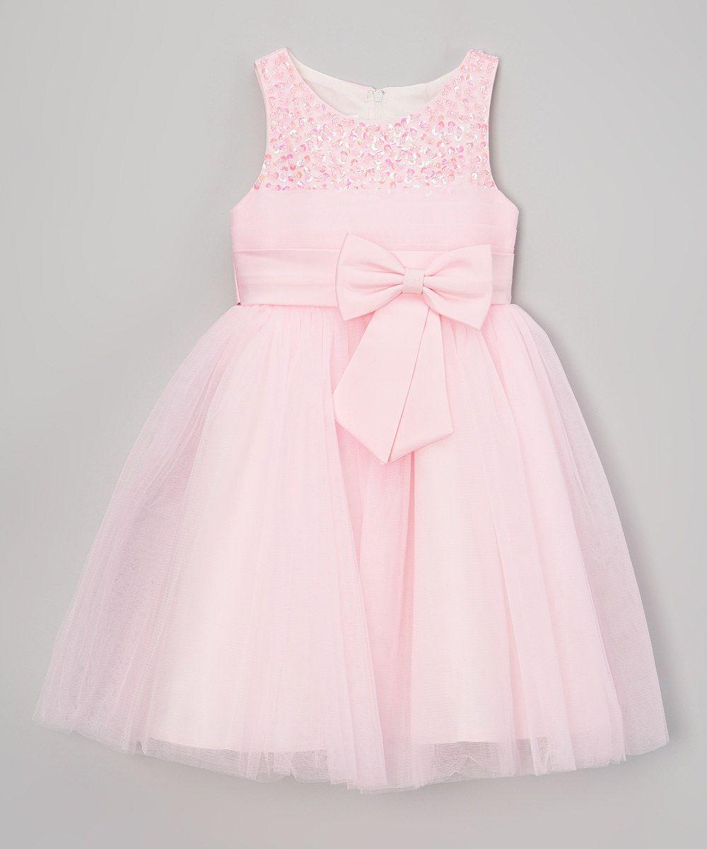This Bella Fleur Pink Beaded Dress - Toddler & Girls by Bella Fleur is perfect! #zulilyfinds