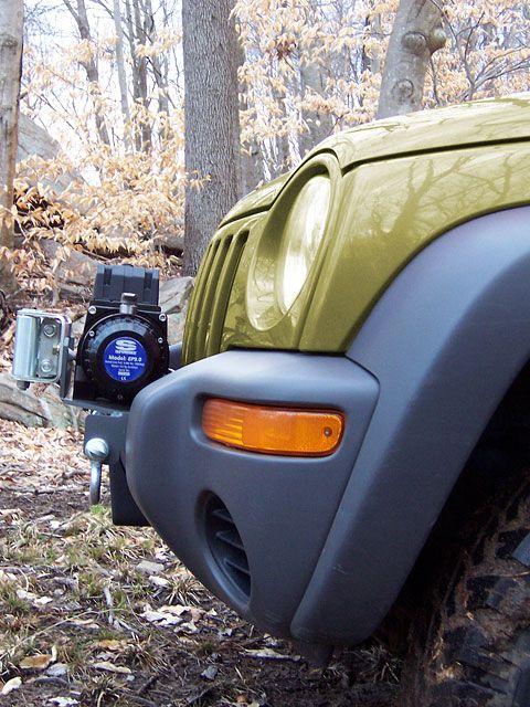 Lifted Jeep Renegade >> KJ Backbone Bumper System for Jeep Liberty   winch ...