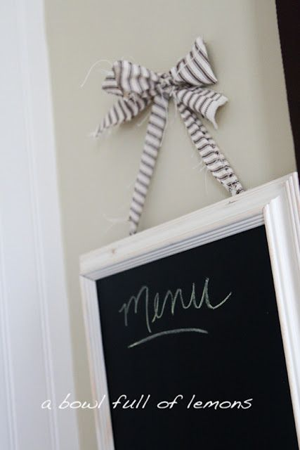 DIY chalkboard picture frames with tutorial. | DIY house | Pinterest ...