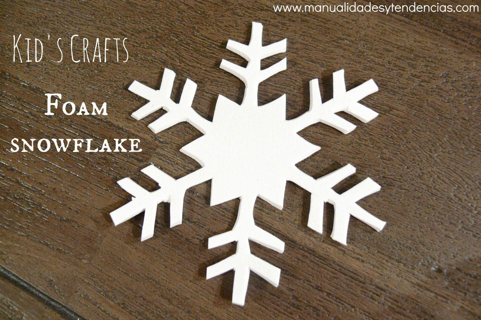 Plantillas navideñas. Foam snowflake | Free Printables | Pinterest ...