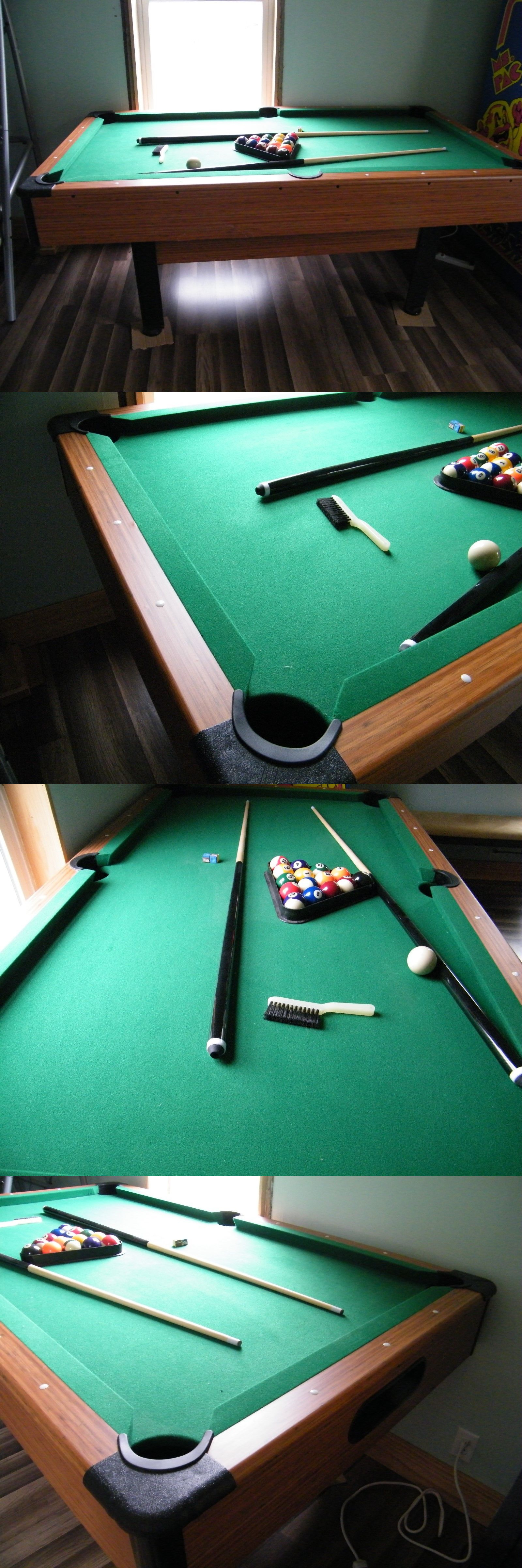 Tables Ft Slate Pool Table Wood Finish Local Pick Up - Pool table pick up