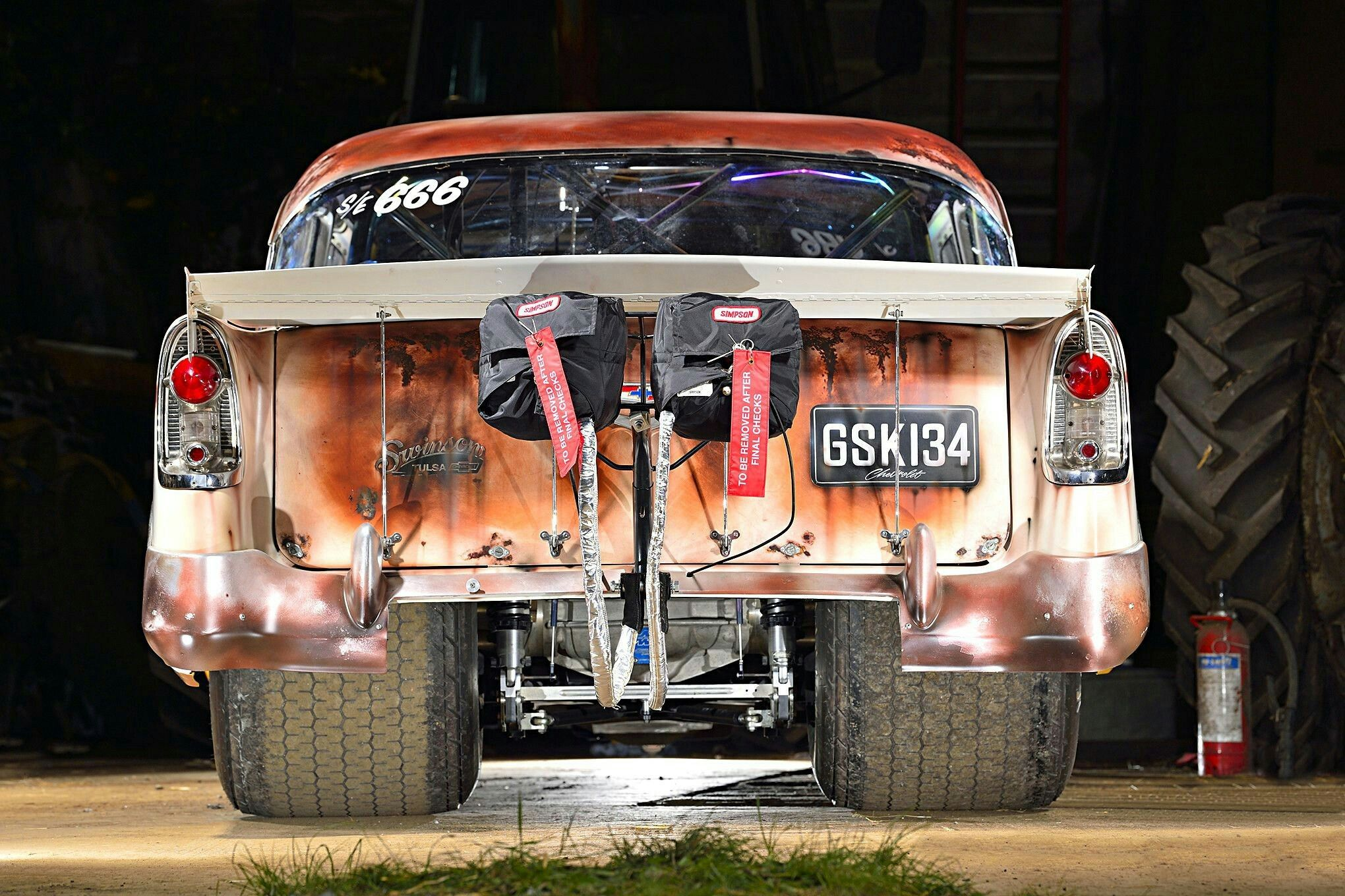 1956 Chevy 210 Drag Car | Muscle cars | Drag cars, Cars, Hot