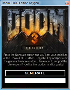 Doom 3 BFG edition key generator 100% working free download