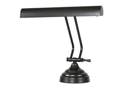 12 inch Oil Rubbed Bronze Shade Desk Lamp