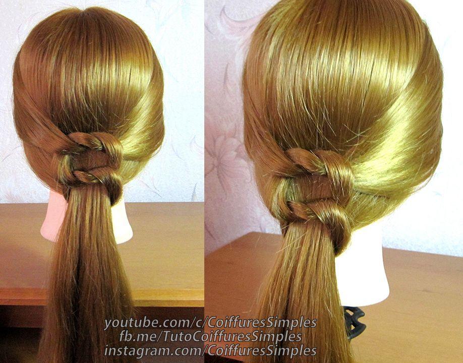 Coiffure Facile Pour Cheveux Mi Long Perfect Coiffure