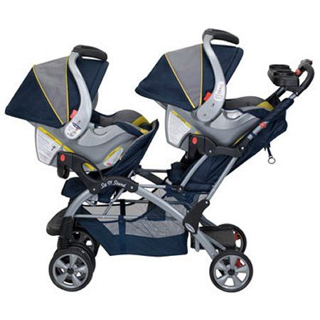 Baby Trend Sit N Stand Double Baby Stroller Twin Baby Car