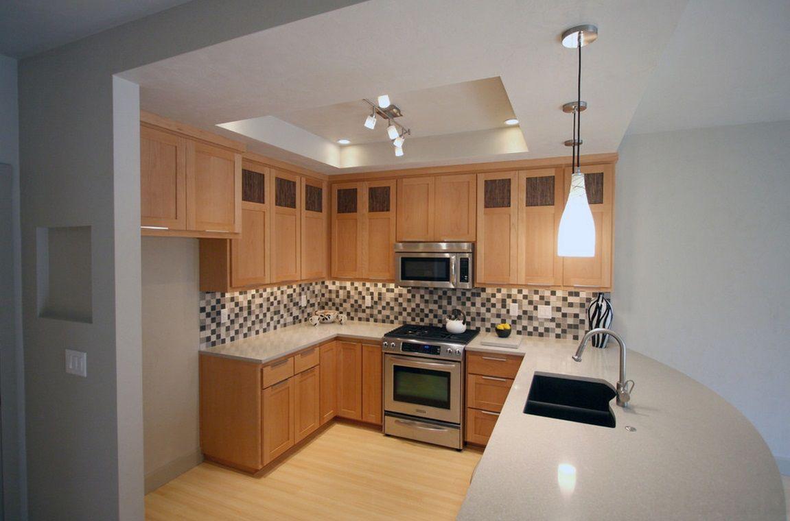 47 Luxury U-shaped Kitchen Designs in 2020 | Kitchen design small space, U shaped kitchen ...