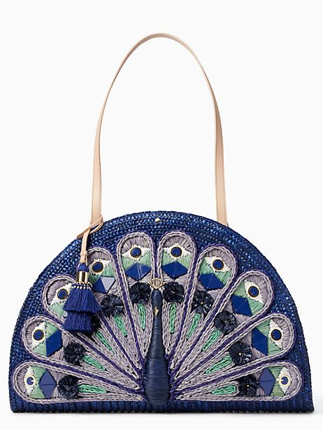 Peacock Feathers Leather Handbags Purses Shoulder Tote Satchel Bags Womens