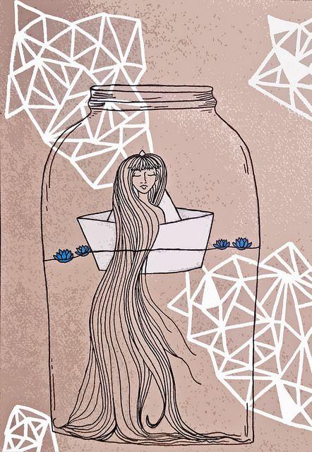 long hair don't care by littlelostlar, via Flickr