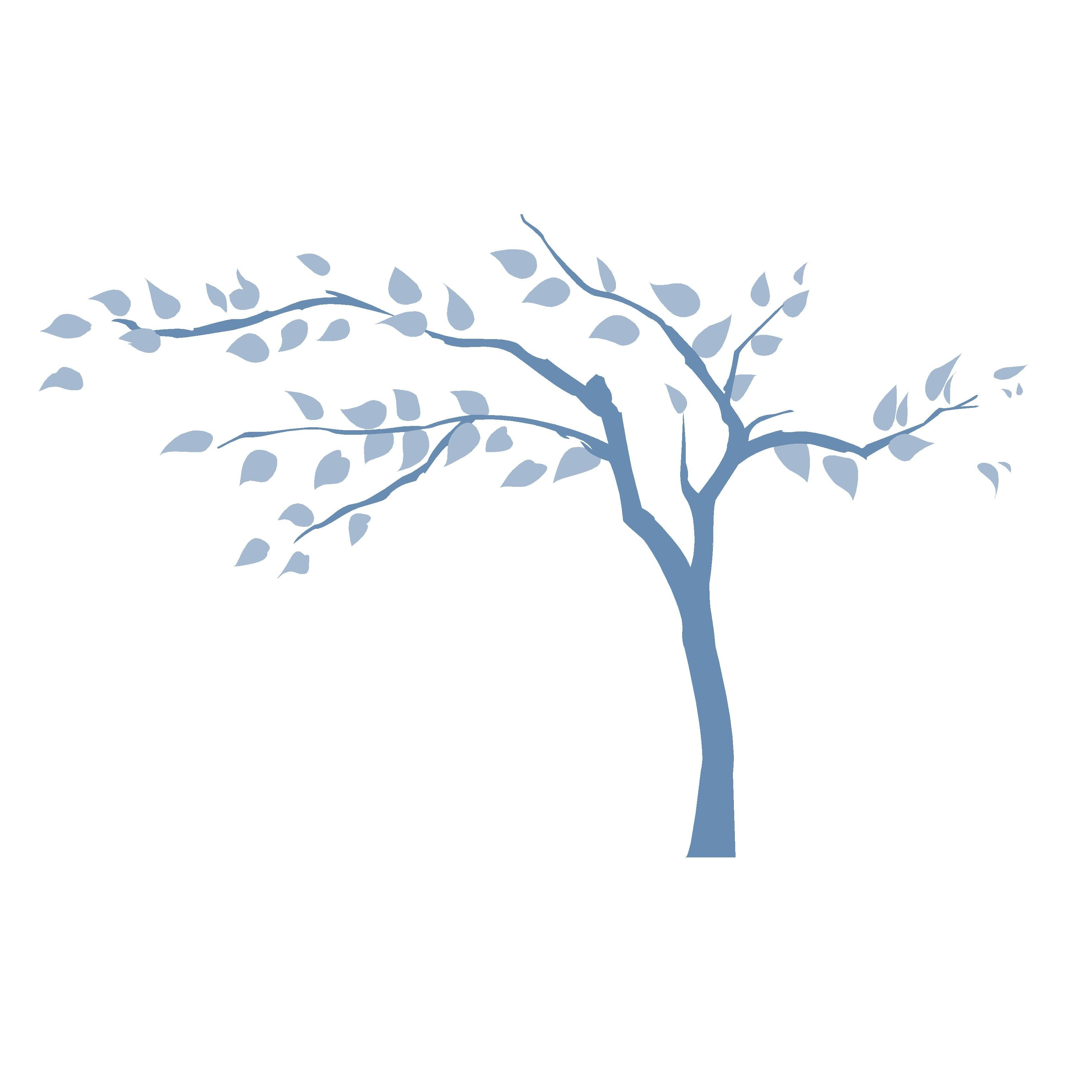 Children s murals diy paint by number wall murals - The Tranquil Tree Wall Mural